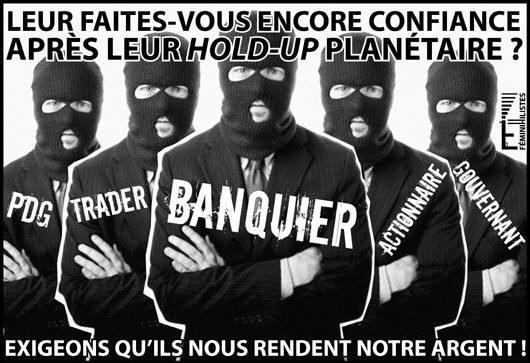 La mafia mondiale oligarchique.