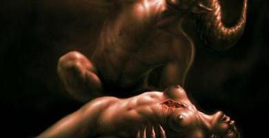 La bête arrache le cœur des hommes, le temple de Dieu.