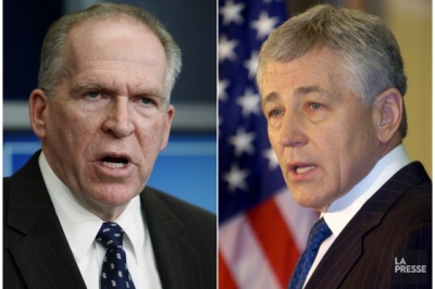 opposition frontale entre Brennan à la CIA et Hagel au Pentagone